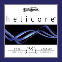 D'Addario Helicore Cello Strings 4/4 SET